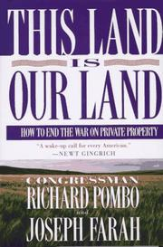 Cover of: This land is our land
