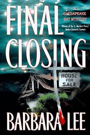 Cover of: Final closing
