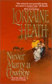 Cover of: Never Marry a Cowboy