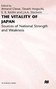 Cover of: The Vitality of Japan |