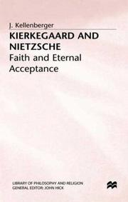 Cover of: Kierkegaard and Nietzsche