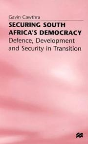 Cover of: Securing South Africa's democracy