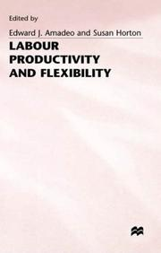 Cover of: Labour Productivity and Flexibility |
