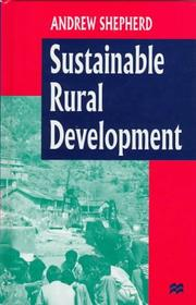 Cover of: Sustainable Rural Development