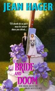 Cover of: Bride and Doom | Jean Hager