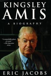 Kingsley Amis by Eric Jacobs