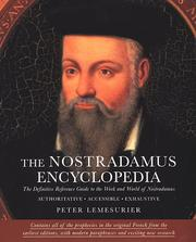 Cover of: The Nostradamus Encyclopedia | Peter Lemesurier