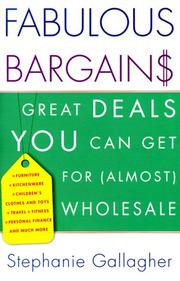 Cover of: Fabulous Bargains!