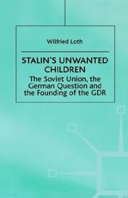 Cover of: Stalin's unwanted child