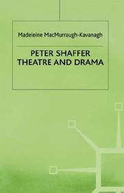 Cover of: Peter Shaffer | M. K. MacMurraugh-Kavanagh