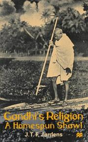 Cover of: Gandhi's religion
