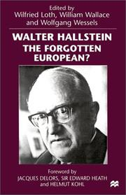 Cover of: Walter Hallstein |