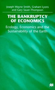 Cover of: The bankruptcy of economics