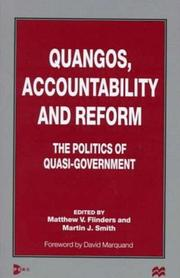 Quangos, Accountability and Reform