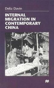 Cover of: Internal migration in contemporary China