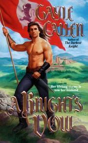 Cover of: The Knight's Vow | Gayle Callen