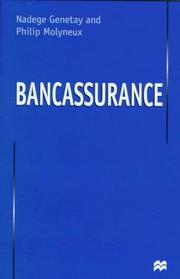 Cover of: Bancassurance