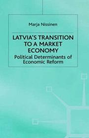 Cover of: Latvia's transition to a market economy