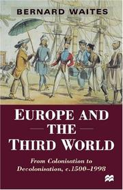Cover of: Europe and the Third World | Bernard Waites