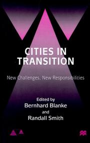 Cover of: Cities in transition