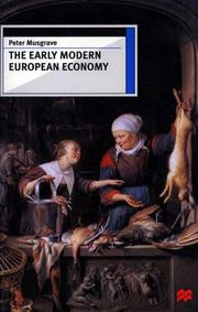 Cover of: The early modern European economy