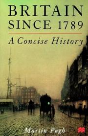 Cover of: Britain since 1789: a concise history