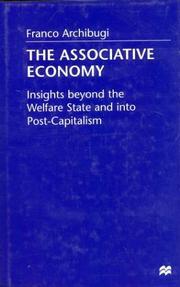 Cover of: The Associative Economy