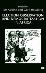 Election Observation and Democratization in Africa by
