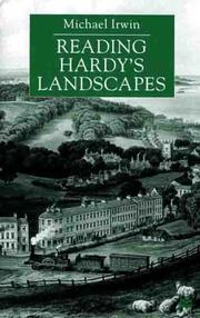 Cover of: Reading Hardy's landscapes