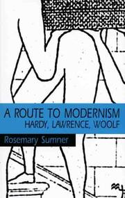 Cover of: A route to modernism