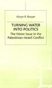 Cover of: Turning water into politics