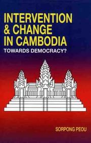 Cover of: Intervention & change in Cambodia