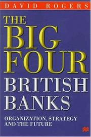 Cover of: The big four British banks