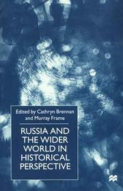 Cover of: Russia and the Wider World in Historical Perspective |