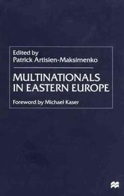 Cover of: Multinationals in Eastern Europe
