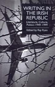 Cover of: Writing in the Irish Republic | Ray Ryan