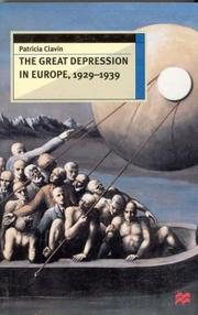Cover of: The Great Depression in Europe, 1929-1939 (European History in Perspective)