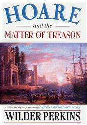 Cover of: Hoare and the matter of treason
