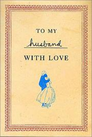Cover of: To My Husband with Love