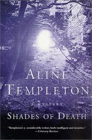 Cover of: Shades of Death | Aline Templeton