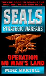 Cover of: Seals Strategic Warfare Operation No Man's Land (Seals Strategic Warfare)