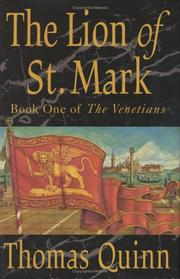 Cover of: The lion of St. Mark | Quinn, Thomas