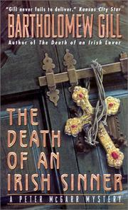 Cover of: The Death of an Irish Sinner | Bartholomew Gill