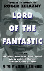 Cover of: Lord of the Fantastic: Stories in Honor of Roger Zelazny