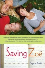 Cover of: Saving Zoe