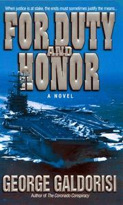 Cover of: For duty and honor