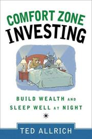 Cover of: Comfort Zone Investing | Ted Allrich