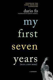 Cover of: My First Seven Years (Plus a Few More)