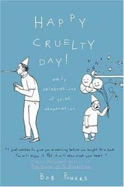 Cover of: Happy Cruelty Day!