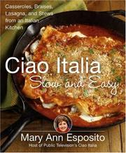 Cover of: Ciao Italia Slow and Easy: Casseroles, Braises, Lasagne, and Stews from an Italian Kitchen